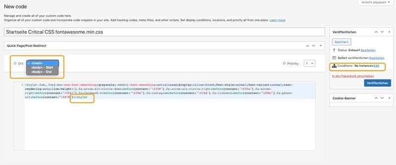 Elementor PageSpeed: Critical CSS nutzen 6